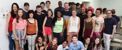 Photo Flash: In Rehearsal With THE PERFECT FIT At Rave Theatre Festival