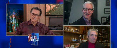 VIDEO: Anderson Cooper & Andy Cohen Talk New Year's Eve on THE LATE SHOW