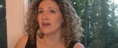 VIDEO: Donna Vivino and Larry Hochman Perform 'Smile'