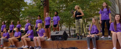 VIDEO: Betsy Wolfe, Andrew Rannells and More Take Part in Bryant Park's Broadway-Bound Initiative