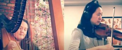 VIDEO: NSO's Adriana Horne and Jennifer Kim Perform Strauss