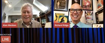 VIDEO: Alan Menken Visits Backstage LIVE with Richard Ridge- Watch Now!
