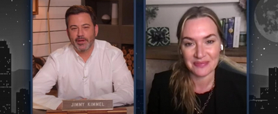 VIDEO: Kate Winslet Shares Her Husband's Amazing Last Name on JIMMY KIMMEL LIVE!