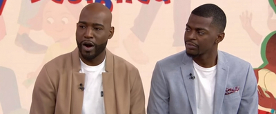 VIDEO: Watch Karamo Brown and His Son Interviewed on TODAY SHOW