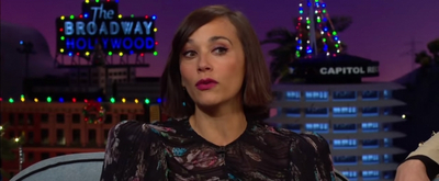 VIDEO: Rashida Jones Talks About Her Relationship With Will Smith on THE LATE LATE SHOW