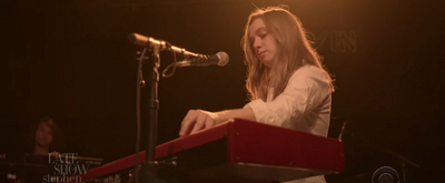 VIDEO: Julien Baker Performs 'Faith Healer' on THE LATE SHOW WITH STEPHEN COLBERT