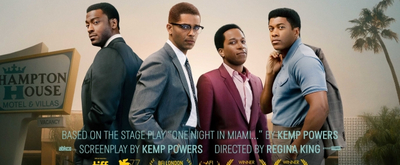 VIDEO: Watch the Trailer for the Film Adaptation of ONE NIGHT IN MIAMI, Starring Leslie Odom Jr., Nicolette Robinson & More
