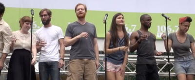 Broadway Rewind: NATASHA, PIERRE AND THE GREAT COMET OF 1812 Blazes Through Bryant Park in 2013!