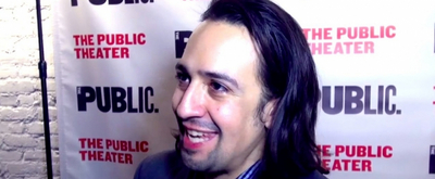 #TBT: Looking Back At HAMILTON's Off-Broadway Opening In Honor Of Lin-Manuel Miranda's Birthday
