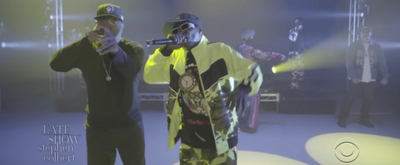 VIDEO: Public Enemy Performs 'Grid' on THE LATE SHOW