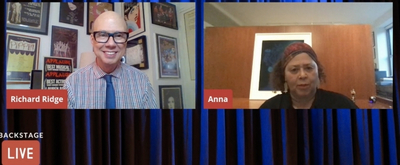 VIDEO: Anna Deavere Smith Visits Backstage LIVE with Richard Ridge- Watch Now! Video