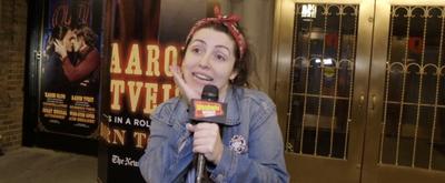 BWW Exclusive: Allison Frasca Stops By MOULIN ROUGE on The Broadway Break(down)!
