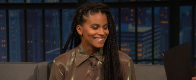 VIDEO: Watch Zazie Beetz Talk About Knitting a Hat for Her Cat on LATE NIGHT WITH SETH MEYERS