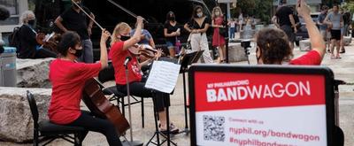 VIDEO: NY Philharmonic Prepares For Bandwagon Concerts