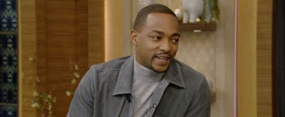 VIDEO: Anthony Mackie Talks About Being King of Mardi Gras on LIVE WITH KELLY AND RYAN