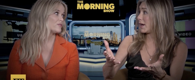 VIDEO: Jennifer Aniston and Reese Witherspoon Talk THE MORNING SHOW, LEGALLY BLONDE 3, and More!