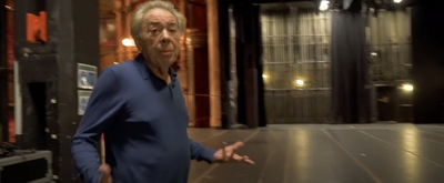 VIDEO: Andrew Lloyd Webber Tours the London Palladium