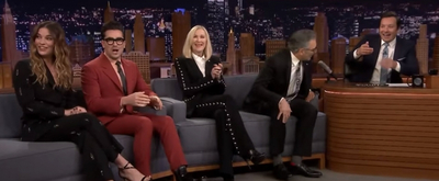 VIDEO: Watch the Cast of SCHITT'S CREEK on THE TONIGHT SHOW WITH JIMMY FALLON