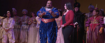 VIDEO: ALADDIN Tour Celebrates 1,001 Performances with an Emotional Onstage Surprise for North Carolina Drama Teacher