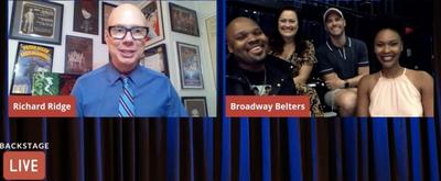 VIDEO: Ashley Brown, Michael James Scott, Kissy Simmons & Josh Strickland Visit Backstage LIVE with Richard Ridge- Watch Now!