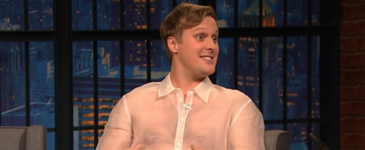VIDEO: John Early Talks About Officiating Amy Schumer's Wedding on LATE NIGHT WITH SETH MEYERS