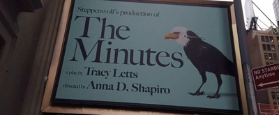 BWW TV: Watch THE MINUTES Marquee Get Installed at the Cort Theatre!