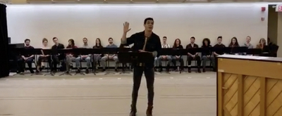 VIDEO: Watch Jason Gotay Sing 'Oh, What a Circus' from New York City Center's EVITA