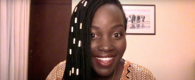 VIDEO: Lupita Nyong'o Practiced Kissing Over Zoom for Virtual ROMEO Y JULIETA Production