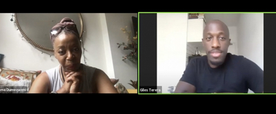 VIDEO: Giles Terera Chats With Noma Domezweni on Mountview LIVE!