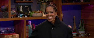 VIDEO: Regina King Talks ONE NIGHT IN MIAMI on THE LATE LATE SHOW Video