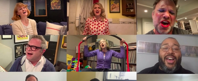 VIDEO: Annaleigh Ashford, Norbert Leo Butz, John Mulaney, and More Take Part in New Song 'The Radius of Love' About Staying Home