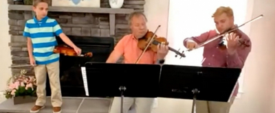 VIDEO: NSO's Pavel Pekarsky and Family Perform From Home