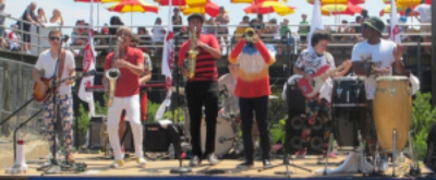 Lagond All-Stars Perform Free Live Jazz, Latin & Funk At Coney Island's Deno's Wonder Wheel Park