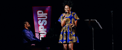 VIDEO: Amber Iman Performs at the Broadway Theatre For NY PopsUp Video