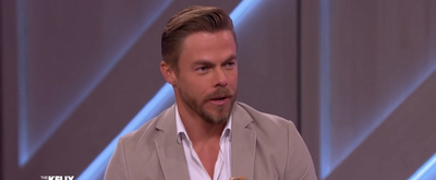 VIDEO: Derek Hough Tries To Smize Like Tyra Banks on THE KELLY CLARKSON SHOW