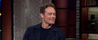 VIDEO: Sam Heughan Talks OUTLANDER on THE LATE SHOW WITH STEPHEN COLBERT