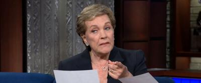 VIDEO: Watch Julie Andrews Read Stephen Colbert a Bedtime Story