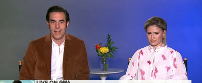 VIDEO: Sacha Baron Cohen Talks Rudy Giuliani in BORAT on GOOD MORNING AMERICA