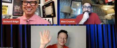 VIDEO: BURNING MAN's Max Crumm and Tally Sessions Visit Backstage LIVE with Richard Ridge- Watch Now!