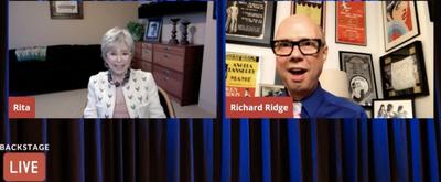 VIDEO: Rita Moreno Visits Backstage LIVE with Richard Ridge- Watch Now! Video