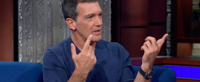 VIDEO: Antonio Banderas Reveals He is in 'Negotiations' to Bring Spanish A CHORUS LINE to New York