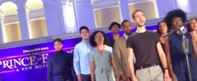 VIDEO: The Cast of THE PRINCE OF EGYPT Previews Music From the Show