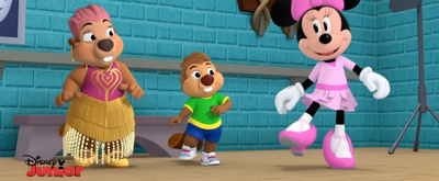 BWW Exclusive: Minnie Mouse Teaches Leslie Uggams' Nana Beaver to Tap Dance on MINNIE'S BOW-TOONS!