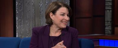 VIDEO: Watch Senator Amy Klobuchar on THE LATE SHOW WITH STEPHEN COLBERT