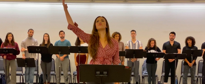 BWW TV: Solea Pfeiffer Performs 'Rainbow High' in Rehearsals for EVITA at New York City Center