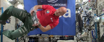 VIDEO: Luca Parmitano Performs First DJ Set Live From Outer Space