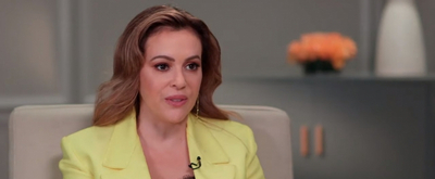 VIDEO: Alyssa Milano Talks About Her New Children's Book on GOOD MORNING AMERICA