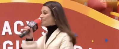 VIDEO: Lea Michele Sings at the Macy's Thanksgiving Day Parade