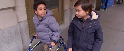 VIDEO: Jai Srinivasan and Sebastian Ortiz of A CHRISTMAS CAROL Discuss What it Means to Play Tiny Tim as Disabled Kids