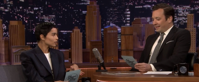 VIDEO: Zoë Kravitz and Jimmy Compare Top Five Karaoke Songs on THE TONIGHT SHOW